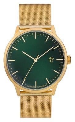 CHPO Nando green gold horloge