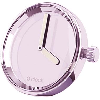 O clock klokje mirror violet