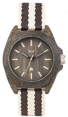 WeWOOD Phoenix 38 Wenge Grey horloge