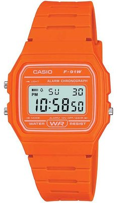 Casio F-91WC-4AEF horloge