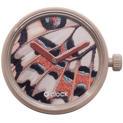 O clock klokje butterfly biscuit