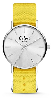 Colori Watch XOXO Nato Yellow horloge