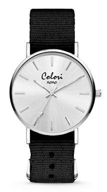 Colori Watch XOXO Nato Black horloge