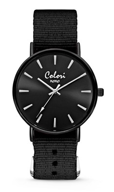 Colori Watch XOXO Nato Black Out horloge