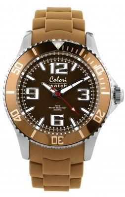 Colori Watch Cool Steel Camel