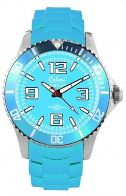 Colori Watch Cool Steel Sky Blue