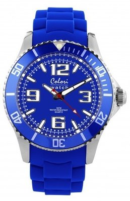 Colori Watch Cool Steel Cobalt Blue