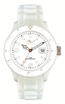 Crown Watch White 48mm