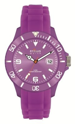 Crown Watch Purple 48mm