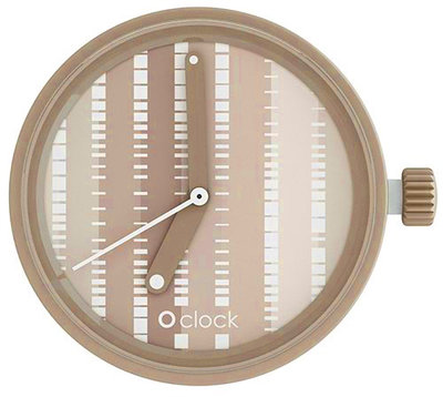 O clock klokje pattern lines