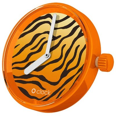 O clock klokje Safari Tiger Orange