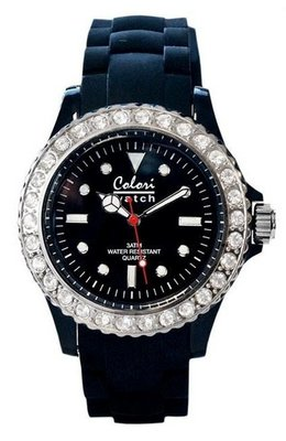 Colori Watch Crystal Black