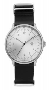 CHPO Harold Silver black horloge