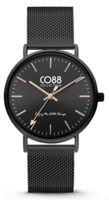 CO88 Steel All black horloge