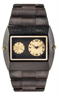 WeWOOD Jupiter Black Gold horloge