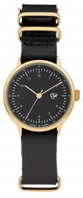 CHPO Harold Mini Gold black horloge