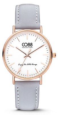 CO88 Leather Grey horloge
