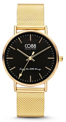 CO88 Steel Gold horloge