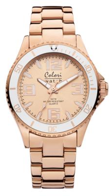 Colori Watch Pure Metal White Rosé