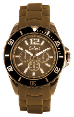 Colori Watch Chic Chrono Camel