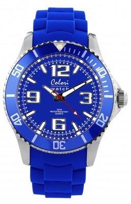 Colori Watch Cool Steel Cobalt Blue
