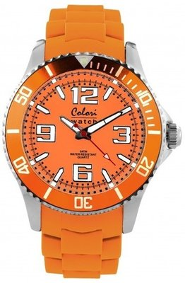 Colori Watch Cool Steel Orange