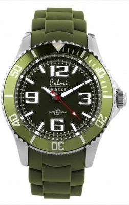 Colori Watch Cool Steel Army Green