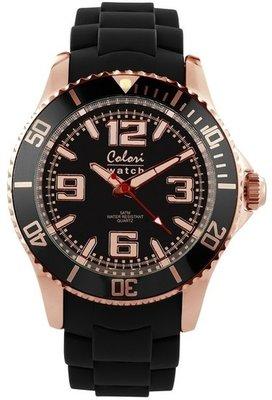 Colori Watch Amazing Rosé Black