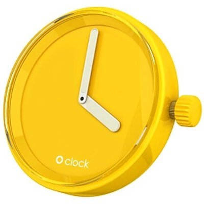 O clock klokje signal yellow