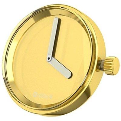 O clock klokje gold