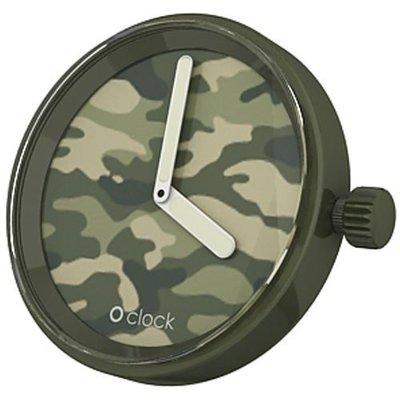 O clock klokje camouflage
