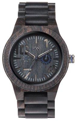 WeWOOD Oblivio Black Blue horloge
