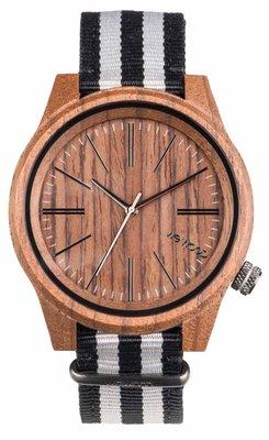 WeWOOD Torpedo Nut Grey horloge