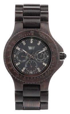WeWOOD Cygnus Black horloge