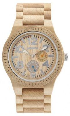 WeWOOD Kardo Beige horloge
