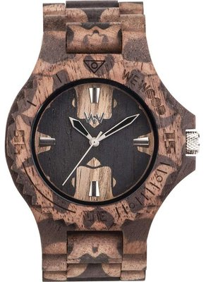WeWOOD Date Nature Mirror Nut horloge
