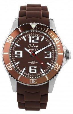 Colori Watch Cool Steel Brown