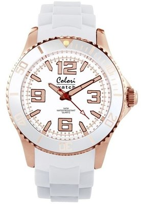 Colori Watch Amazing Rosé White