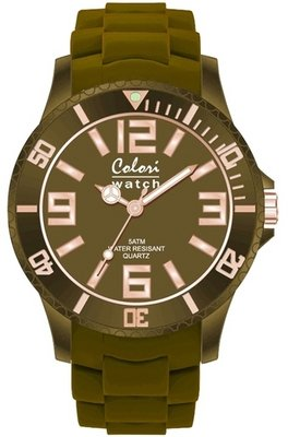Colori Watch Classic Chic Forest Green