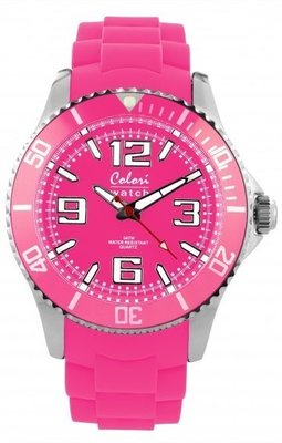 Colori Watch Cool Steel Pink