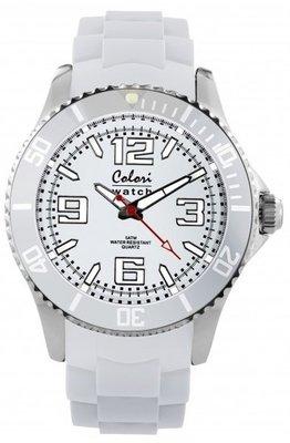 Colori Watch Cool Steel White