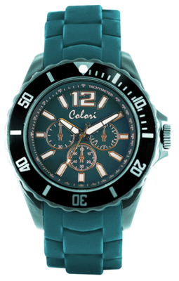 Colori Watch Chic Chrono Lagoon Blue