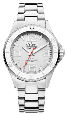 Colori Watch Pure Metal White Silver