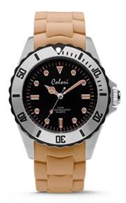 Colori Watch Colour Combo Sand Grey Black horloge
