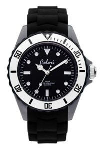 Colori Watch Colour Combo Grey Black horloge