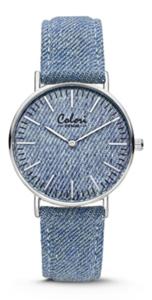 Colori Watch Denim Blue horloge