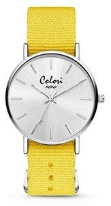 Colori Watch XOXO Nato Yellow horloge
