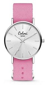 Colori Watch XOXO Nato Pink horloge