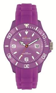Crown Watch Purple 43mm