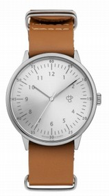 Cheapo Harold Silver brown horloge